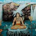 Legend of Ganga's descent to Earth